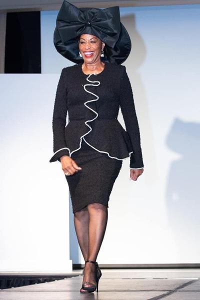 Shirley Jordan modeling
