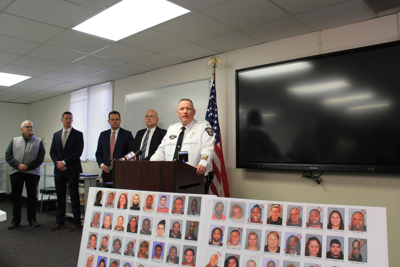 Early morning, two-state drug sweep nets 43 alleged drug