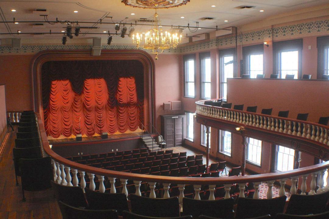Woodward Opera House interior
