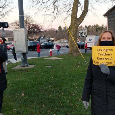 GALLERY: Lexington teachers protest on the square