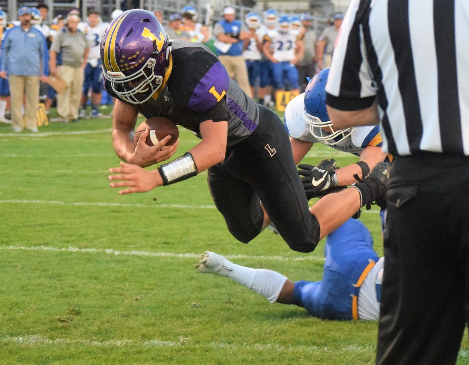 Stover, Lexington in hunt for OCC title