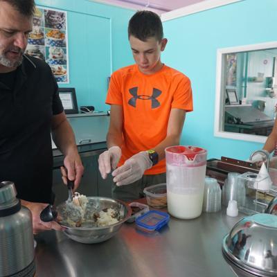 Liquid Nitrogen ice cream is the coldest treat to hit Ashland