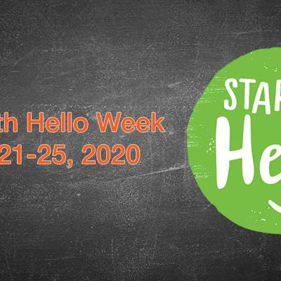 """Galion students """"Start with Hello"""" to build connections"""