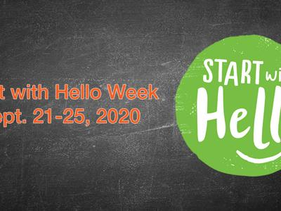 "Galion students ""Start with Hello"" to build connections"