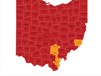 COVID-19: Crawford County remains 'red' in state monitoring system