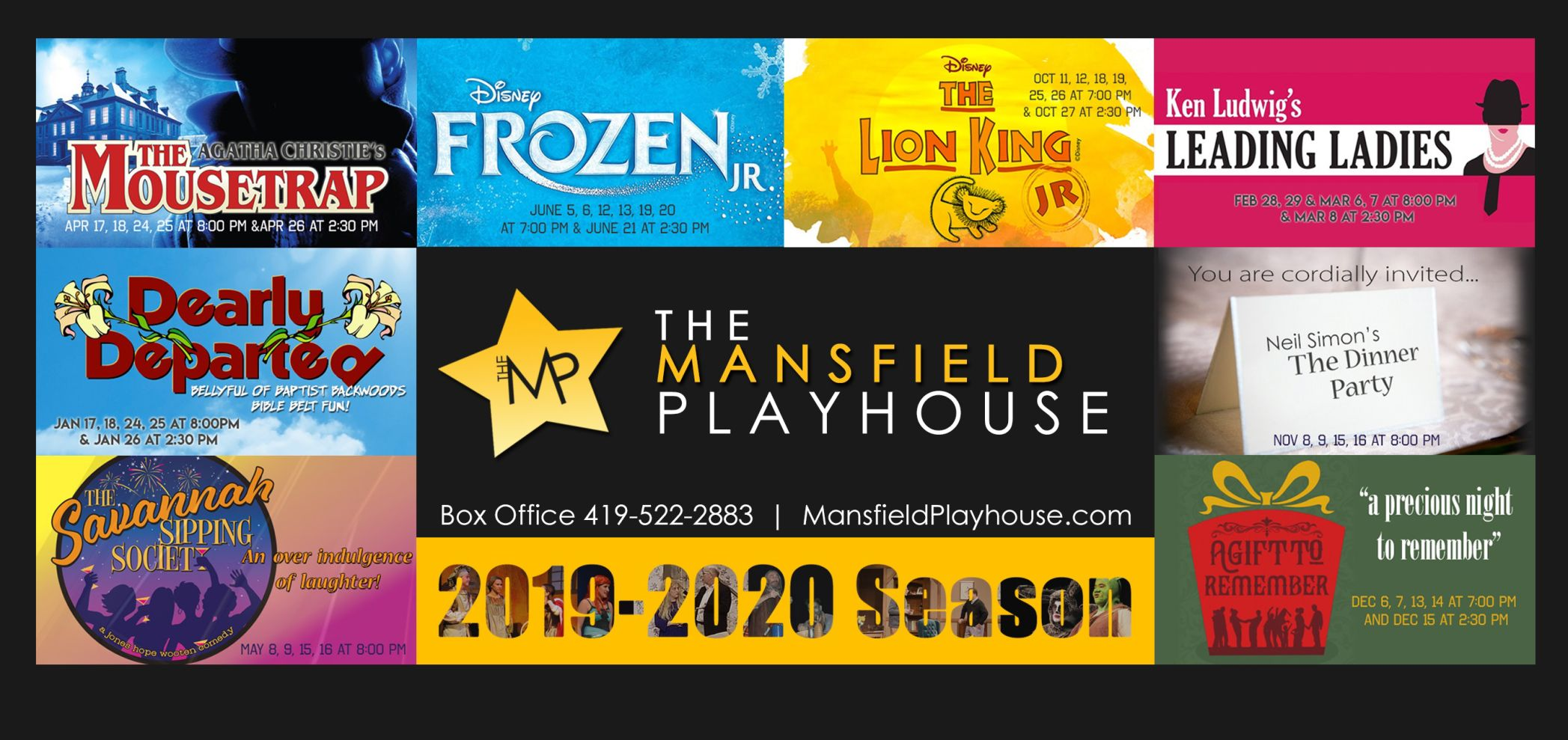 Lion King Jr. replaces Frozen Jr. in Mansfield Playhouse 2019-20 schedule