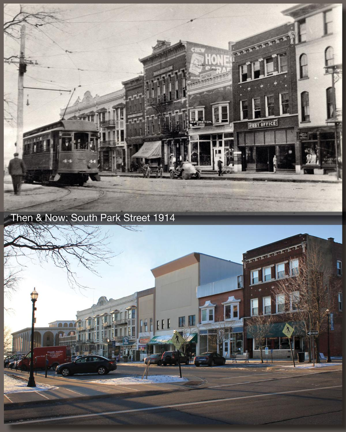 Then & Now: South Park Street in 1914