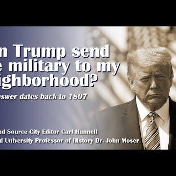 WEBINAR: Can Trump send the military to my neighborhood?