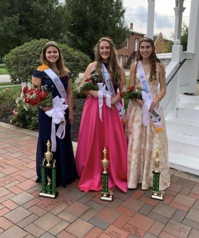 Bellville Fair Queen 2020 and her court.jpg