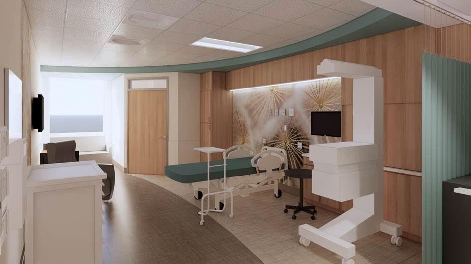 Avita Ontario Hospital LDRP room