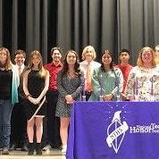 Pioneer Career & Technology Center's National Technical honor society induction