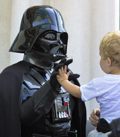 Comic-Con with Darth Vader