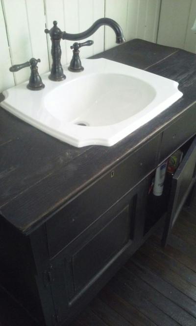 Barn Wood Sink