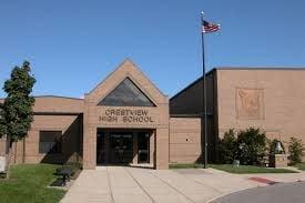 Crestview High School building
