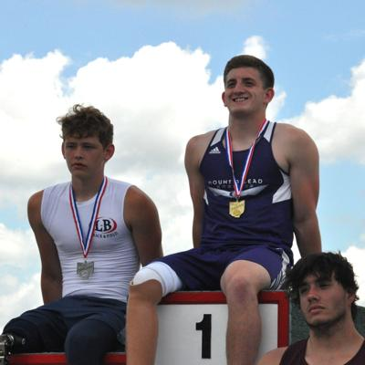 Heart of a champion: Mount Gilead senior wins seated shot put state title, breaks meet record