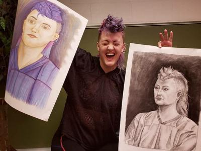 Ashland art model gives insight into building self-compassion and positive body image
