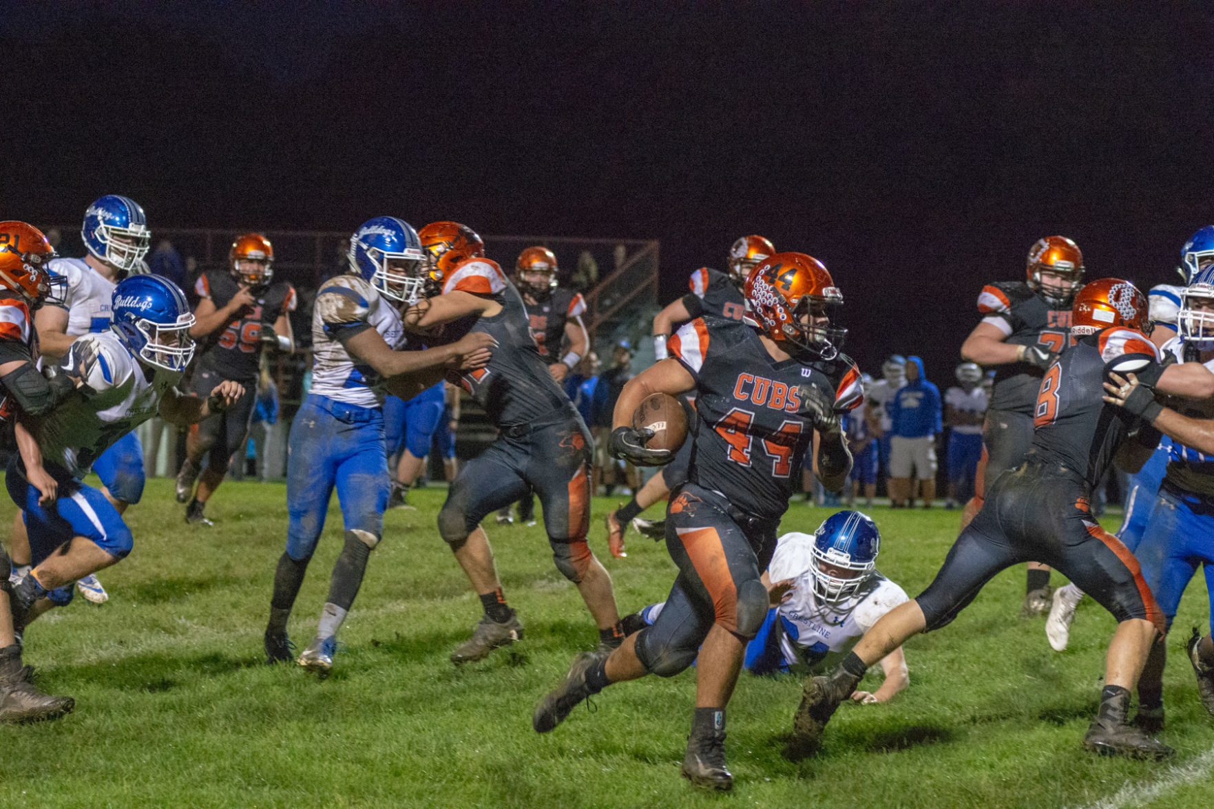 Long Live the King: Lucas RB Grover becomes career rushing leader