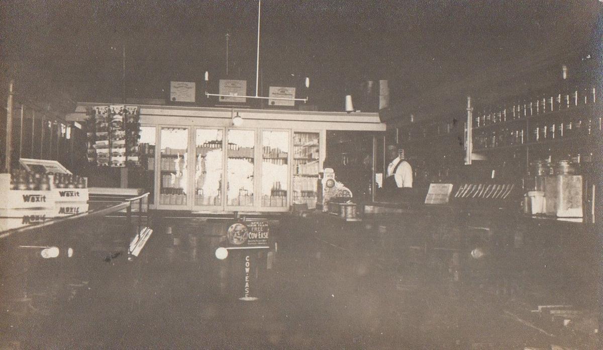 Fink's Drug Store interior