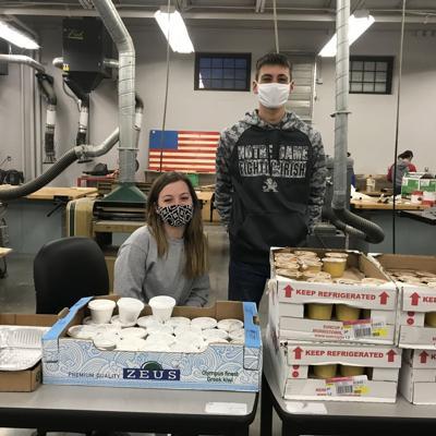 Shelby FFA serves traditional community breakfast, despite COVID-19