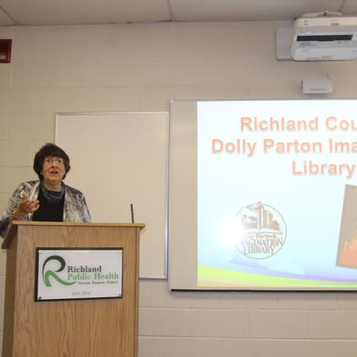Richland County newborns can be enrolled in Dolly Parton's Imagination Library