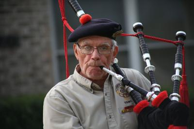 Bagpipes bring a sense of community to Bellville