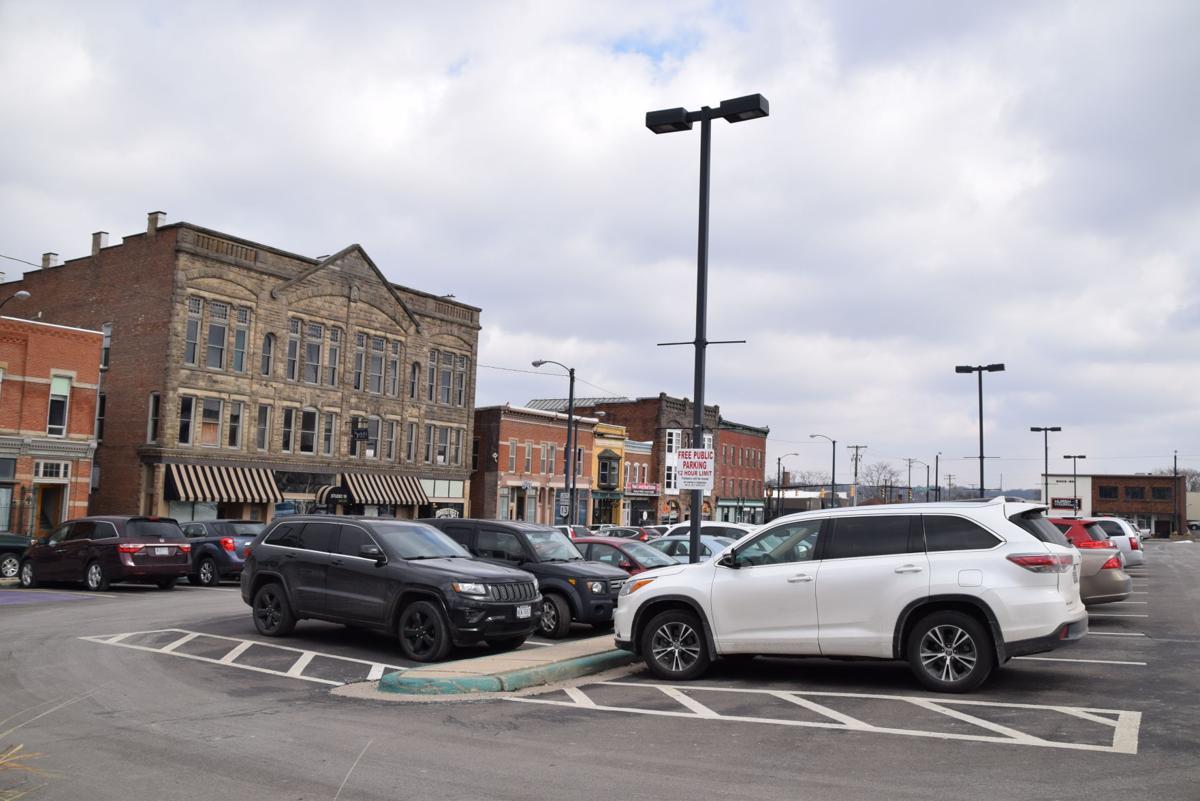 Mansfield Municipal Lot