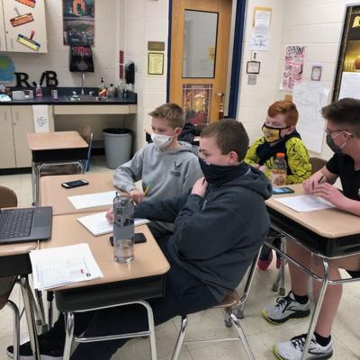 Col. Crawford junior high academic challenge teams excel