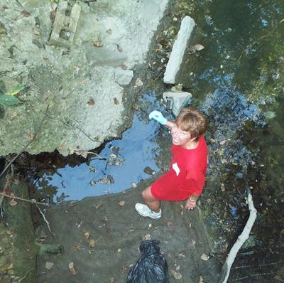 Stormwater cleanup