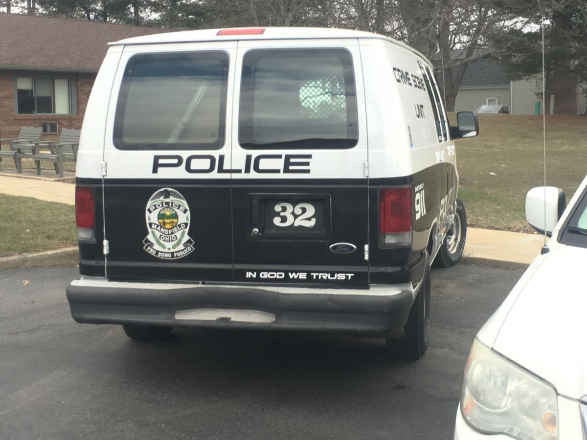 Mansfield Police Van
