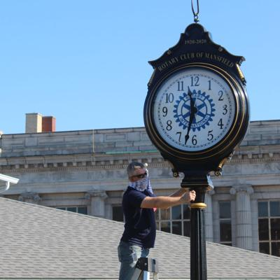 Rotary celebrates centennial with new downtown clock