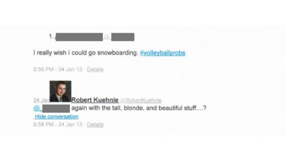 Robert Kuhenle Tweet