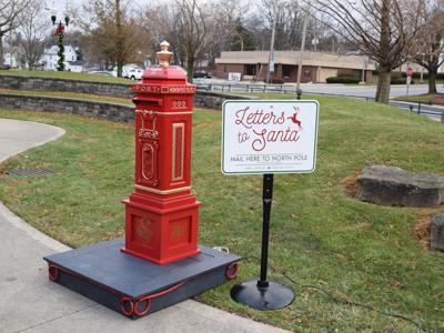 Santa's Mailbox returns to Ashland's Corner Park