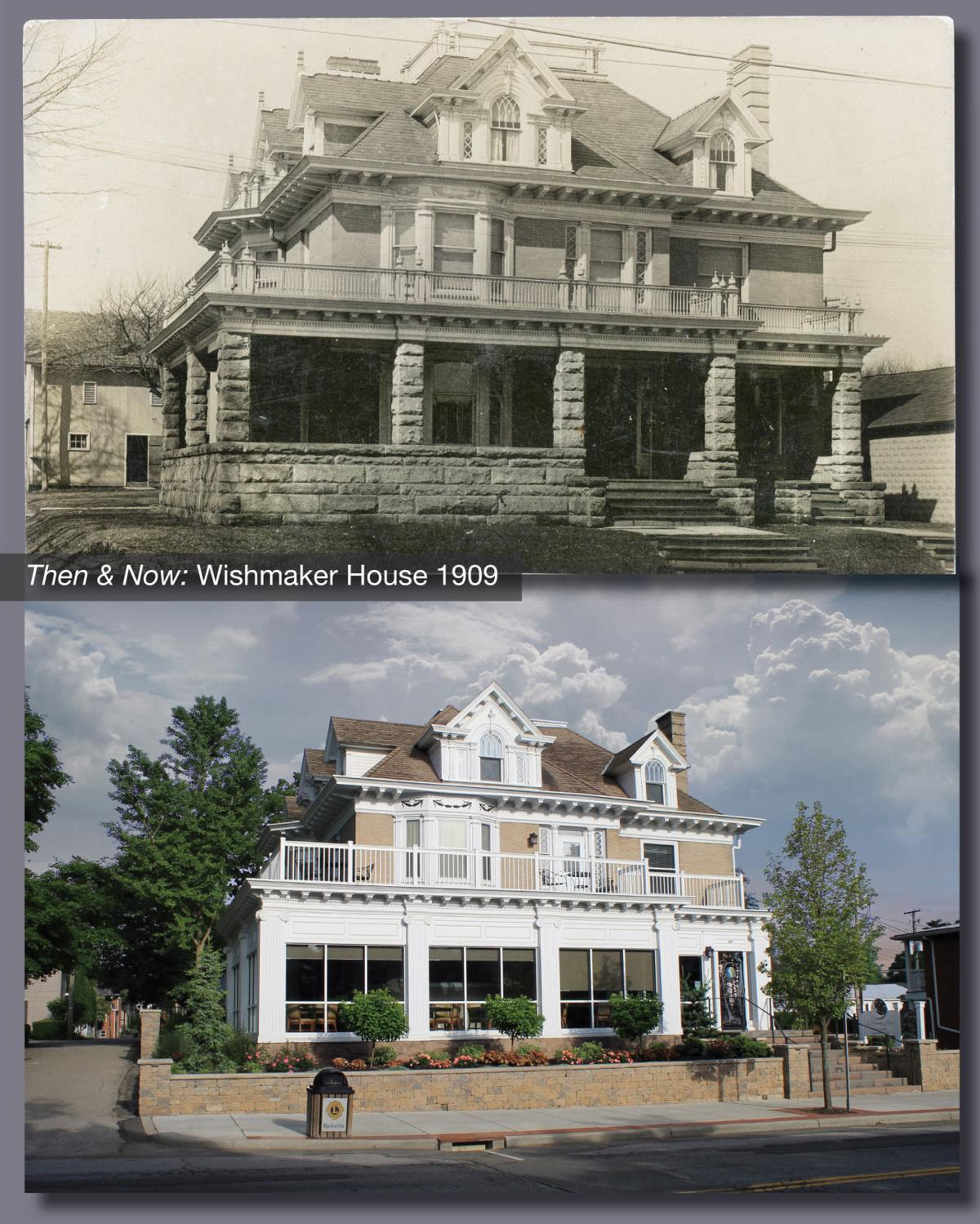 Then & Now: The Wishmaker House
