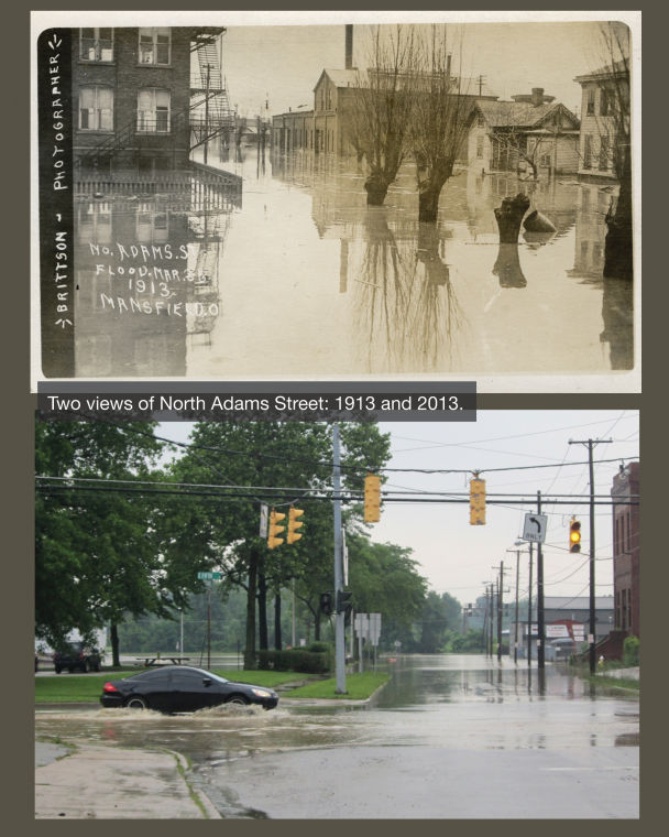 North Adams Street 1913 and 2013