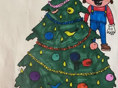 Ontario Rec. Dept. & Lions club crown coloring contest winners