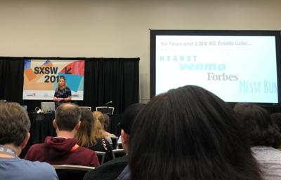 SXSW preaches the power of networking, the importance of reaching out
