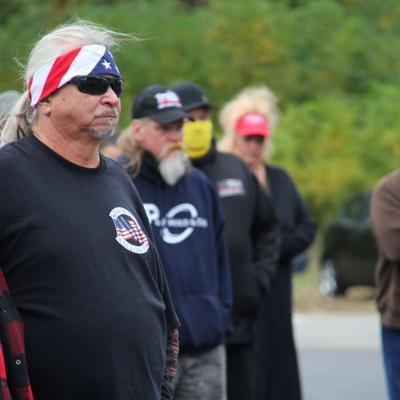 Complicating the narrative at a Mansfield MAGA rally