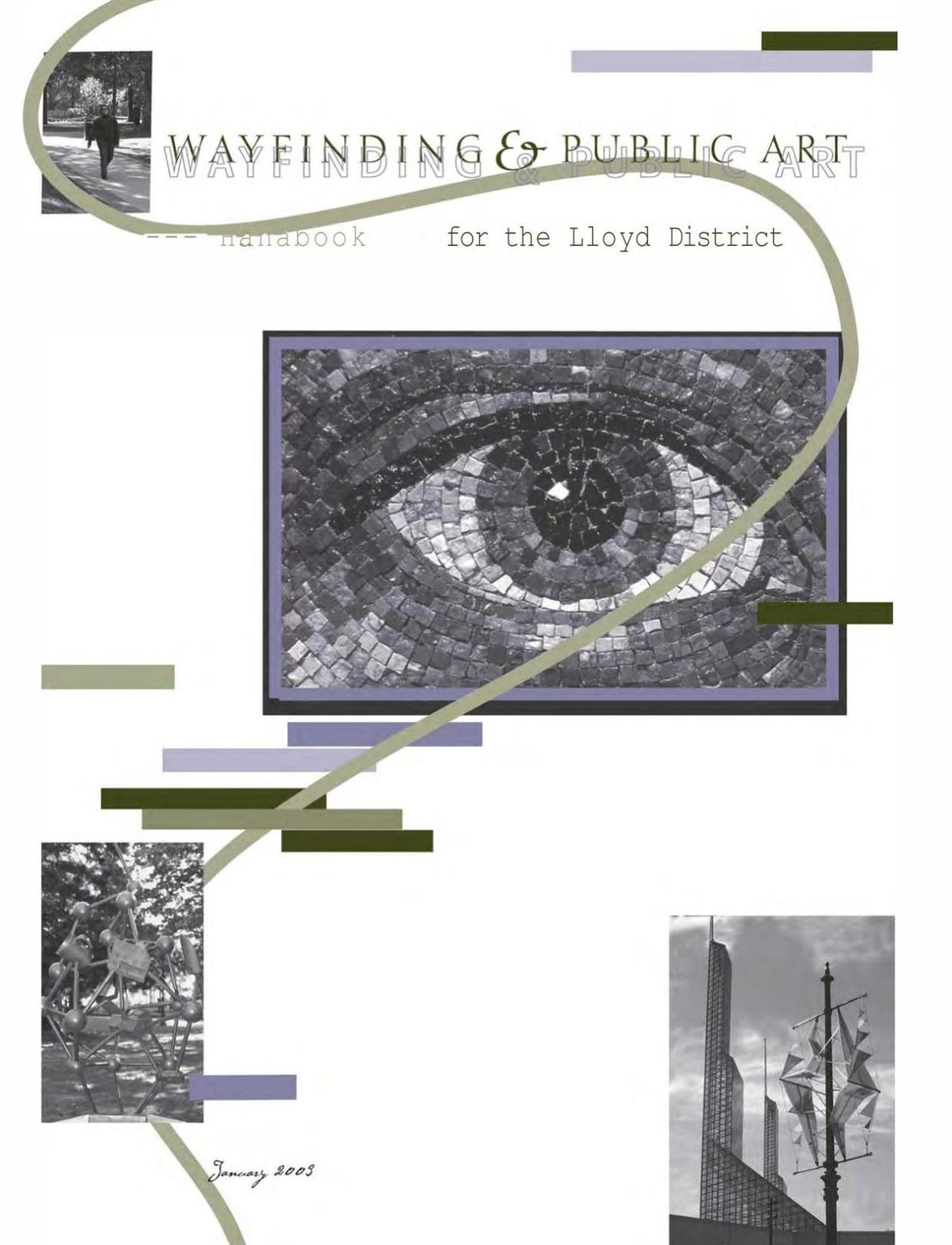 Wayfinding and Public Art for the Lloyd District