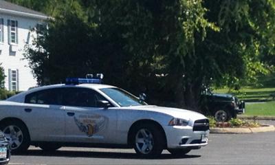 Ohio  State Highway Patrol vehicle