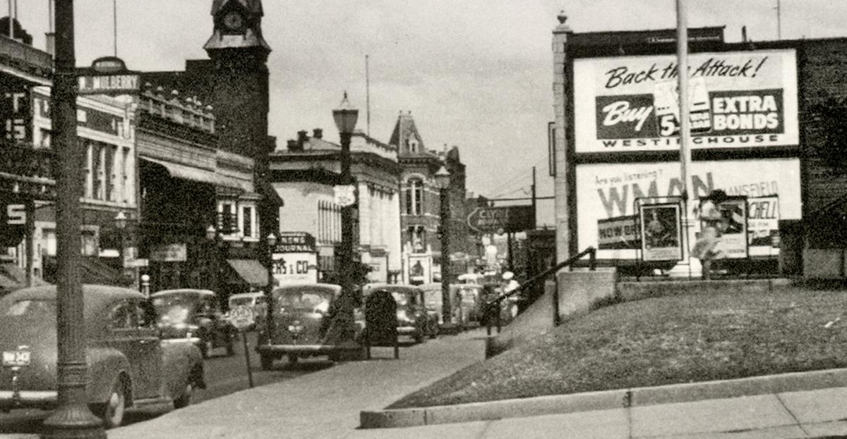 Fourth & Mulberry 1940s