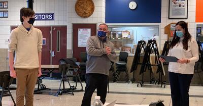 Galion School administrators in masks