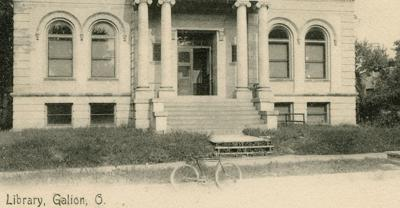 Then & Now: Galion Public Library 1904