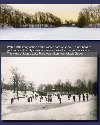 GALLERY: Ice on Maple Lake Park