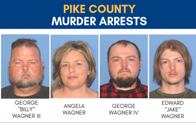 Pike County murder arrests 2 of 4 arrested