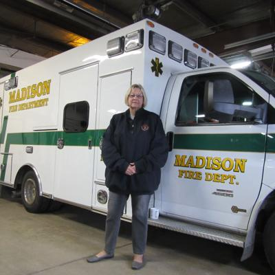 Swank retires from volunteer position with Madison Fire Dept.