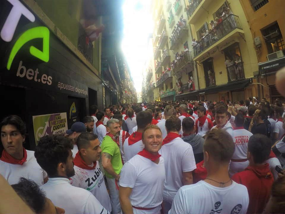 GALLERY: Running with the bulls in Pamplona