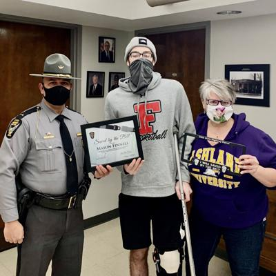 """Fredericktown man joins """"Saved by the Belt"""" Club"""