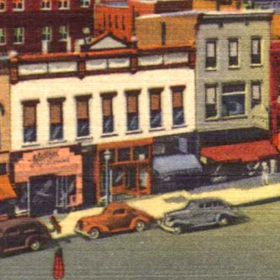 Then & Now: South Main at the Square