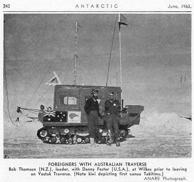 Loudonville native was the first American to visit the coldest place on Earth