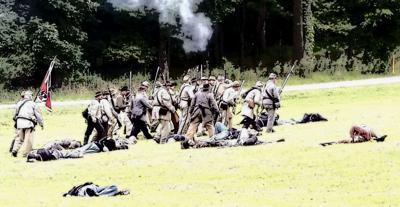 Civil War re-enactment